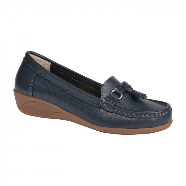 KEIL-MOKASSIN | VS-COMFORT - 1-8615 DARK-BLUE
