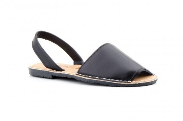 Avarca Menorquina Sandale | Piel Negro