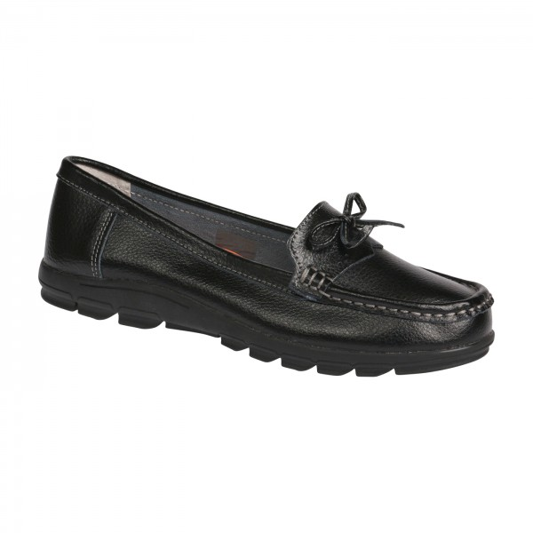 MOKASSIN-SLIPON | VS-COMFORT - 1-9713 BLACK