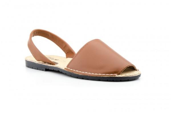 Avarca Menorquina Sandale | Piel Cuero